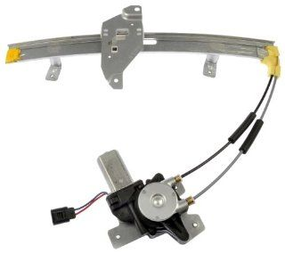 Dorman 741 646 Front Passenger Side Replacement Power Window Regulator with Motor for Pontiac Grand Prix Automotive