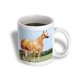 3dRose Palomino Quarter Horse Mug, 11 Ounce Kitchen & Dining