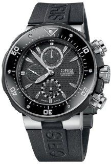 Oris Pro Diver Chronograph Mens Watch 674 7630 71 54 RS Pro Divers Watches
