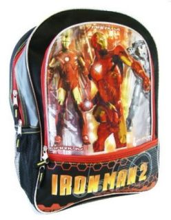Marvel Iron Man 2 Backpack  Iron Man School Backpack Clothing