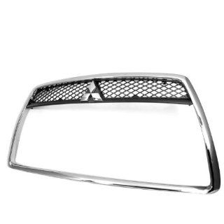 Chrome Front Grille Around Trim Bumper Fender Duct Grille For 2008 2009 2010 2011 Mitsubishi Lancer Sedan Brand New Warranty Automotive