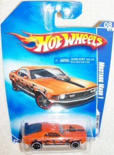 Hot Wheels 1970 Ford MUSTANG MACH 1 Rebel Rides 2009 Toys & Games