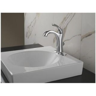 Delta Addison Single Hole Bathroom Faucet with Single