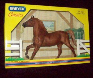 Breyer Classics #668 Sorrel Quarter Horse Toys & Games
