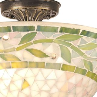 Dale Tiffany Mosaic Semi Flush Mount