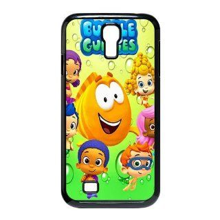 Custom Bubble Guppies Cover Case for Samsung Galaxy S4 I9500 S4 697 Cell Phones & Accessories
