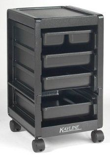 Kayline K25 Heavy Duty Rollabout Cart Black [Misc.] Beauty
