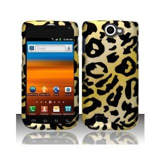 Yellow Cheetah Hard Cover Case for Samsung Galaxy Exhibit 4G SGH T679 Cell Phones & Accessories