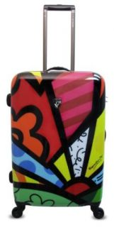 Heys USA Luggage Britto New Day 26 Inch Hard Side Suitcase, Multi Colored, One Size Clothing