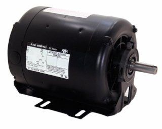 A.O. Smith F680 3/4 hp, 1725 RPM, 115/230 volts, 56 Frame, ODP, Ball Bearing Belt Drive Blower Motor   Electric Fan Motors