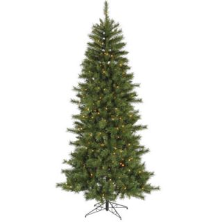 Vickerman 9 Green Newport Mix Pine Artificial Christmas Tree with 650