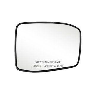 Fit System 80257 Honda Odyssey Right Side Power Replacement Mirror Glass with Backing Plate Automotive