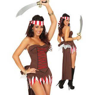 3WISHES 'Pleasure Pirate Costume' Sexy Pirate Costumes for Women Adult Exotic Costumes Clothing