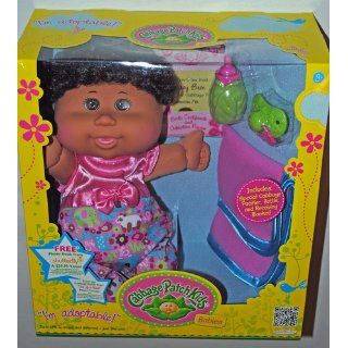 Cabbage Patch Kids Babies, Brown Skin Girl with Black Curly Hair And Brown Eyes Toys & Games