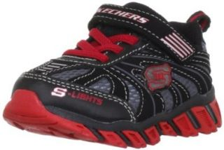 Skechers Infant/Toddler Boys' S Lights Pillar Ignus Footwear Shoes