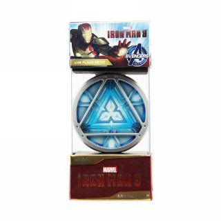 Iron Man 3 Arc Reactor (32 Gb) Usb Led Light Flash Drive New 2013 Computers & Accessories