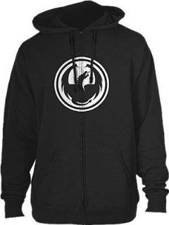 Dragon Alliance Icon Zip Hoody , Gender Mens/Unisex, Primary Color Black, Size Md, Distinct Name Black 723 418 BLACK MD Automotive