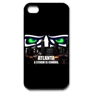 NFL Seattle Seahawks Team iphone 4 4s Hard Plastic Back Cover Case Cell Phones & Accessories