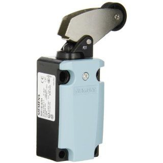 Siemens 3SE5 112 0LF01 International Limit Switch Complete Unit, Angular Roller Lever, 40mm Metal Enclosure, Metal Lever, 22mm Plastic Roller, Snap Action Contacts, 1 NO + 2 NC Contacts Electronic Component Limit Switches