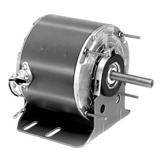 "Fasco D732 5.6"" Frame Totally Enclosed Permanent Split Capacitor Direct Drive Blower and Unit Heater Motor with Ball Bearing, 1/3HP, 1075rpm, 115V, 60Hz, 4.1 amps Electronic Component Motors"