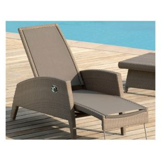 Les Jardins Out of Blue Kahuna Multi Position Lounge Chair in Brown