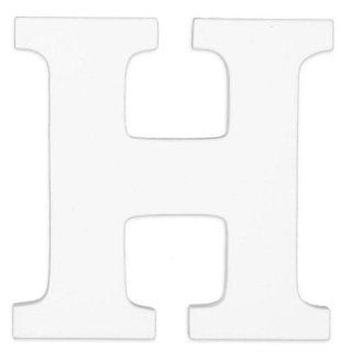 "Wooden Letter ""H"" Color White  Nursery Wall Decor  Baby"