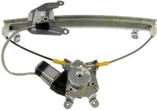 Dorman 741 607 Rear Passenger Side Power Window Regulator with Motor for Nissan Sentra Automotive