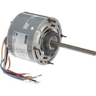 "Fasco D725 5.6"" Frame Open Ventilated Permanent Split Capacitor Direct Drive Blower Motor with Sleeve Bearing, 1/4 1/6 1/8HP, 1075rpm, 208 230V, 60Hz, 2.2 1.5 1.1 amps Electronic Component Motors"