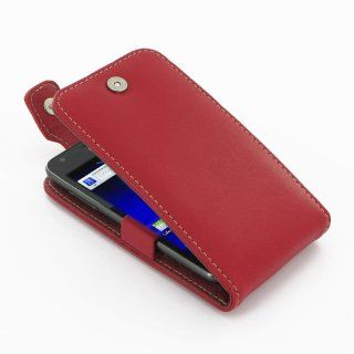 PDair T41 Red Leather Case for Samsung Galaxy SII S2 Skyrocket SGH i727 Electronics