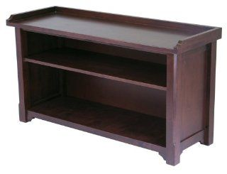 Winsome Wood Storage Hall Bench   Wooden Shoe Bench