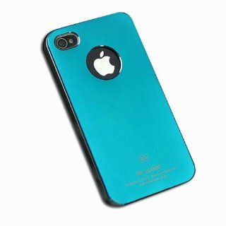 HK Air Jacket Ultra thin Slim Metal Matte Protective Protector Case Cover For iPhone 4 4G 4S sky blue color IPH4 Cell Phones & Accessories