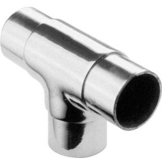 Lavi L44 734 2 2 In. Flush T 90 Degrees   Satin Stainless Steel   Pipe Fittings