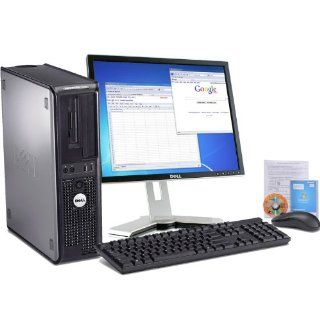 "Dell Optiplex 760 Intel Core 2 Duo 2600 MHz 80Gig Serial ATA HDD 1024mb DDR2 Memory DVD ROM Genuine Windows XP Home Edition + 17"" Flat Panel LCD Monitor Desktop PC Computer Professionally Refurbished by a Microsoft Authorized Refurbisher  Computers &"