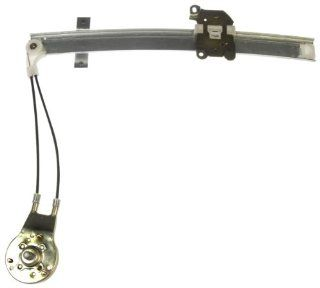 Dorman 740 334 Front Driver Side Replacement Manual Window Regulator for Mazda 324/Mercury Tracer Automotive