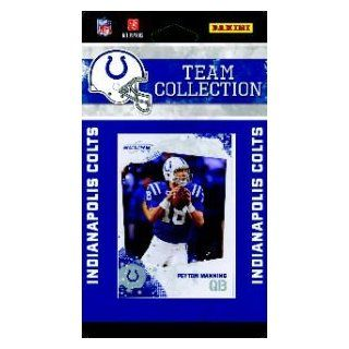 2010 Score Indianapolis Colts Team Set of 11 NFL cards with Peyton Manning, Pierre Garcon, Jerry Hughes RC, Dwight Freeney & more Sports Collectibles