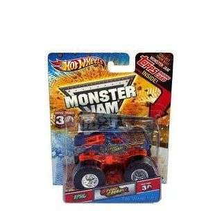 Hot Wheels Monster Jam   Stone Crusher   Includes Topps Trading Card Toys & Games