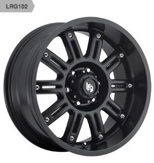 "LRG 102 Wheel with Matte Black Finish (20x9""/6x135mm) Automotive"