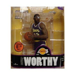 James Worthy RARE Chase Variant Action Figure McFarlane Toys NBA Legends Series 3   Los Angeles Lakers Toys & Games