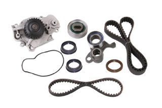 Evergreen TBK226WPT Honda H22A1 Vtec Timing Belt Kit w/ Water Pump Automotive