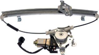 Dorman 751 211 Nissan Versa Front Driver Side Power Window Regulator with Motor Automotive