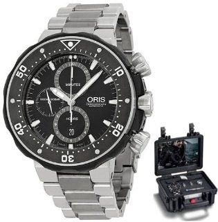 Oris Pro Diver Chronograph Mens Watch Kit 774 7683 7154 MB at  Men's Watch store.
