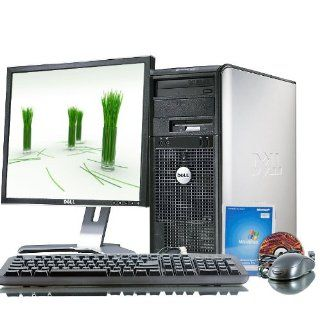 "Dell Optiplex 755 Intel Core 2 Duo 3000 MHz 400Gig Serial ATA HDD 4096mb DDR2 Memory DVD ROM Genuine Windows XP Professional + 19"" Flat Panel LCD Monitor Desktop PC Computer  Computers & Accessories"