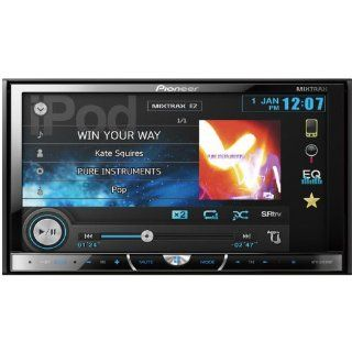 "Pioneer Double DIN In Dash 7"" Touchscreen LCD USB/DVD/ Car Stereo Receiver w/ Bluetooth & Pandora and Ipod Support, Intuitive User Interface And Touchscreen Controls, 8 Band Graphic Equalizer Auto, Sonic Center Control, Advanced Sound Retriever"