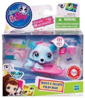 Littlest Pet Shop LPS Tricks & Talents Polar Bear #2759 LPS Toys & Games