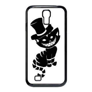 Custom Cheshire Cat Cover Case for Samsung Galaxy S4 I9500 S4 787 Cell Phones & Accessories