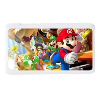 Fashion Case Custom Cartoons super Mario Hard Cover for Ipod Touch 4 Fashion Case 770 Cell Phones & Accessories