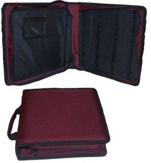 Large Portfolio Essential Oil Case/Bag (64)   BURGANDY Health & Personal Care