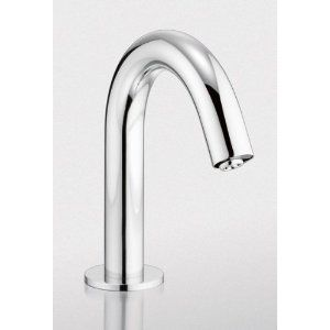 Toto TEL3LC10R BN Brushed Nickel Helix Electronic EcoPower 10 Second Faucet