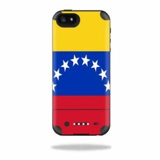 MightySkins Protective Vinyl Skin Decal Cover for Mophie Juice Pack Air iPhone 5 Apple iPhone 5 Battery Case Sticker Skins Venezuela Flag Cell Phones & Accessories