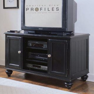 American Drew Camden Dark 64 in. Entertainment Center   Black   TV Stands